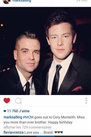 harry et mark sur instagram