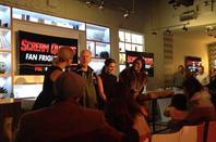 Lea pendant le panel de scream Queens Et Ahs de l'ew fest' qui se tient en ce moment à New York.