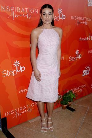 Lea Michele sur le tapisrouge