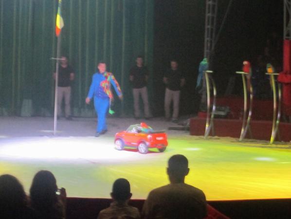 reportage cirque Medrano a Niort 25