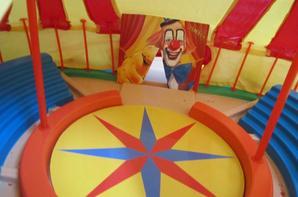 installation du cirque pinder