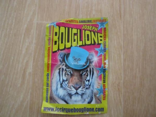 souvenir Cirque Joseph Bouglione