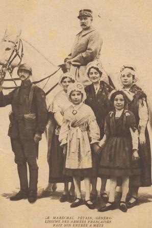Il y a 100 ans (remplacement de Petain par Nivelle)