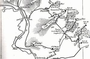 il y a 100 ans début de offensive allemande sur les dernieres fortification de Verdun le 23 juin 1916