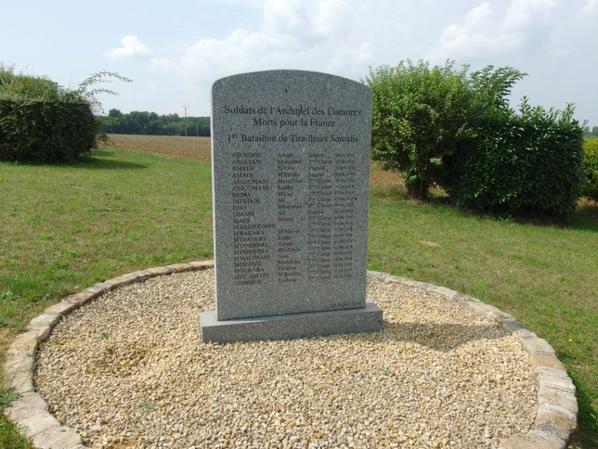 Monuments du 1ere bataillon des tirailleurs Somaliens (60)