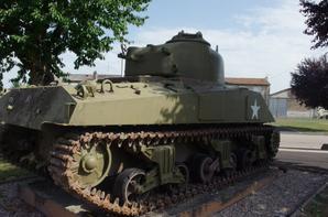 La bataille de chars à d'Arracourt (54)