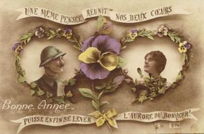 bonne année 1918