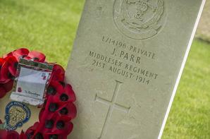 le premier et le dernier soldats britanniques sont tombés à Mons