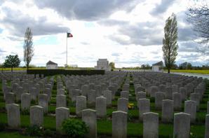 Les chemins de mémoire du Nord. Pas de Calais (Richebourg –la couture)
