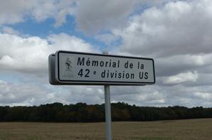 MÉMORIAL DE LA 42E DIVISION US : THE RAINBOW DIVISION