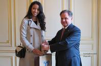 Flora  sera Ambassade du Panama du 24 au 28 février