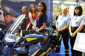 Flora à la foire de Nevers  / Flora , Béatrice Charton élue Miss Nièvre 2014
