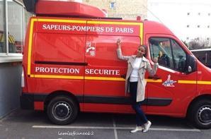 Flora , Sapeurs-Pompiers de Paris /Flora dans le magazine Télé Star