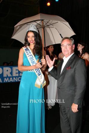 Flora , Nathalie Chauvin élue Miss Manche 2014