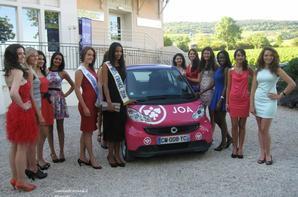 Flora au  Casino de Santenay avec 12 candidates au titre de Miss Bourgogne 2014