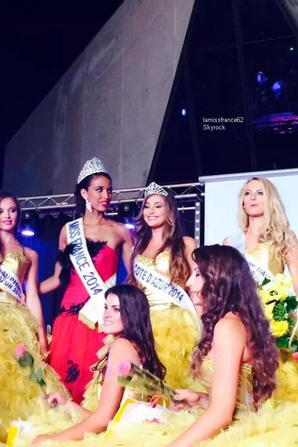 Flora ,Charlotte Pirroni élue Miss cote d'Azur 2014