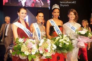 Flora ,Estrella Ramirez  élue  Miss Normandie 2014