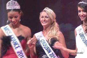 Flora  Léa Froidefond élue Miss Limousin 2014