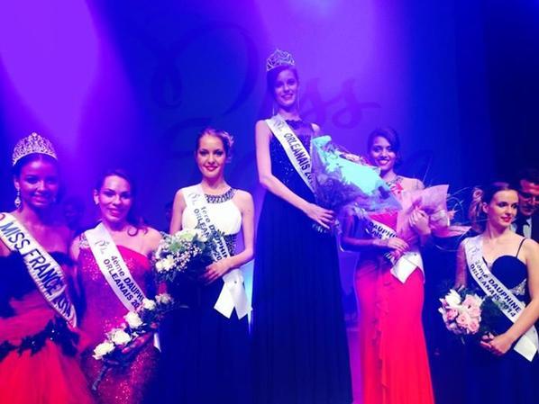 Flora , Solène Salmagne élue Miss Orléanais