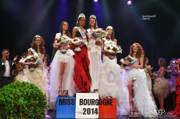 Flora ,Janyce Guillot élue  Miss Bourgogne 2014!