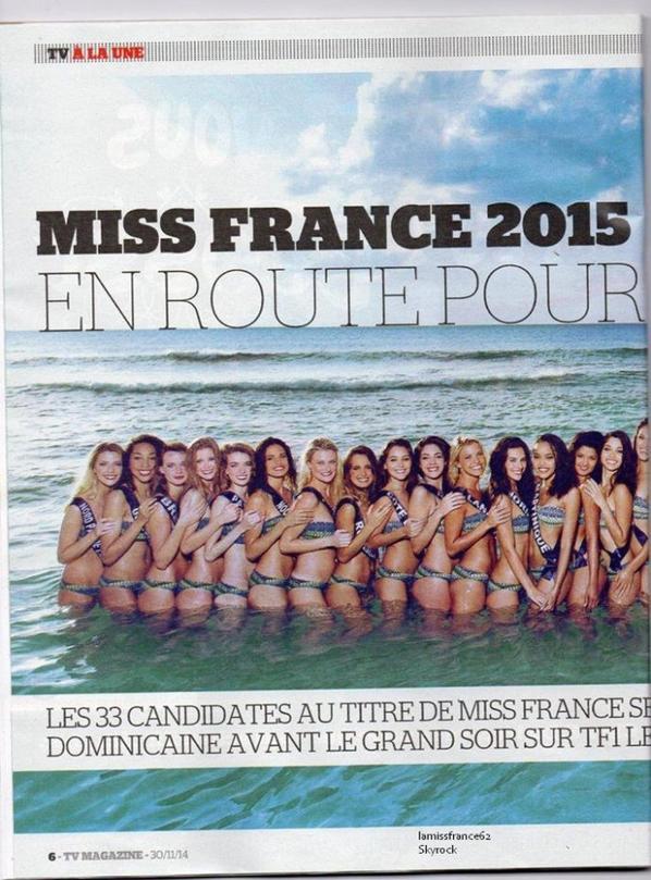 Flora dans le Top 5  pour Miss Monde /  Les 33 Miss Visite de la Base aérienne de Bricy /  Les 33 Miss dans la presse : La suite