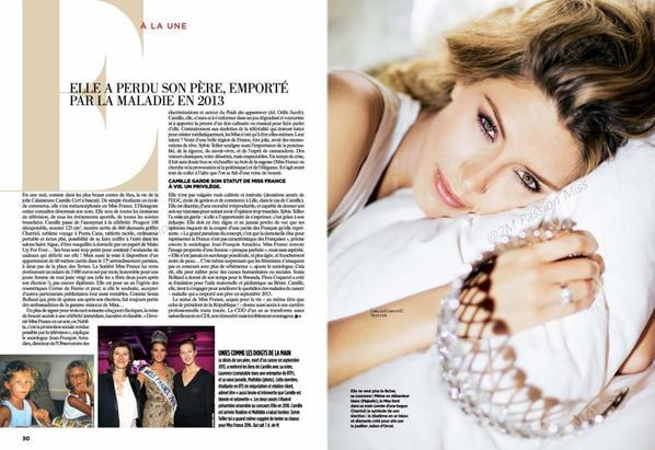 Camille en interview / Camille dans Gala