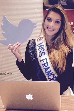 Camille , sa première semaine de Miss France / Camille sur Twitter