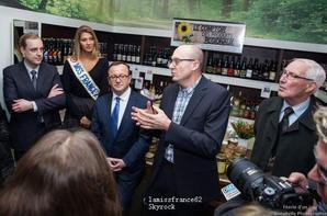 Camille a Inauguration Comptoir des produits régionaux Béthune