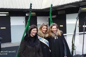 Camille  à l'hippodrome de Vincennes