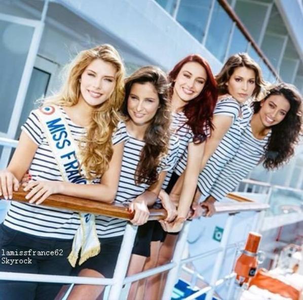 Les Miss  dans 7 à 8 pour la semaine d'intégration