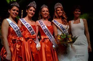 Morgane Raud est élue Miss Alès 2015 :