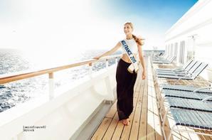 Camille en Voyage d'intégration Miss France