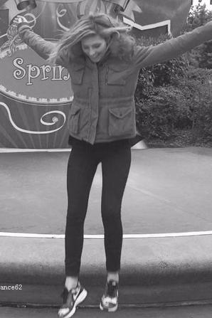 Camille à Disney Spring