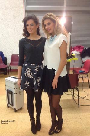 Camille Chez Dame Tartine Montluçon , avec Morgane Laporte Miss Auvergne