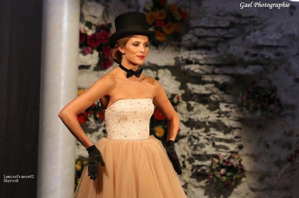 Show Miss France avec Camille