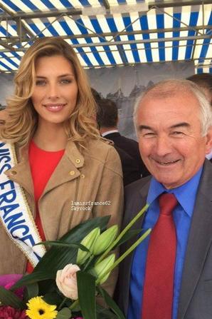 Camille  à l'inauguration de la 25 ème Foirexpo