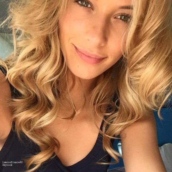 Camille  au vinexpo pour le champagne collet / Camille en route pour Miss Tahiti 2015