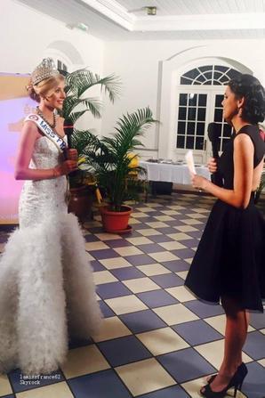 Camille interviewée par Mehiata Miss Tahiti 2013 / Camille à l'élection de Miss Tahiti