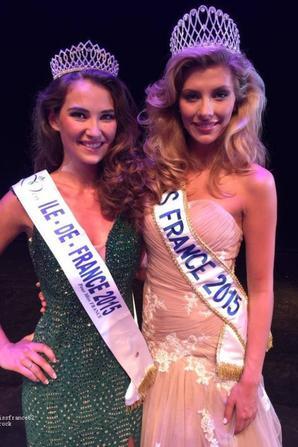 Fanny Harcaut élue Miss  Ile de France 2015.