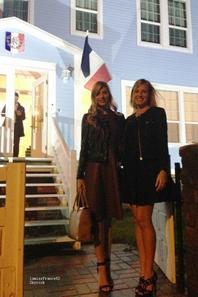Camille à  Saint Pierre et Miquelon / Camille avec Corine de Farme
