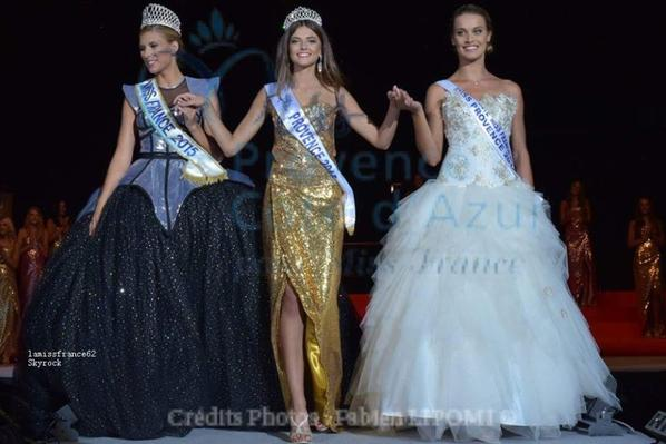 Julia Courtes  a été élue Miss Provence 2015