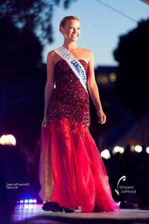 Lena Stachurski a éte élue Miss Languedoc 2015