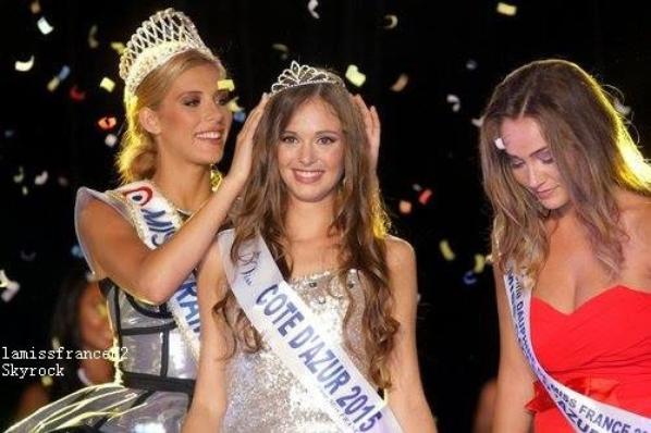 Leanna Ferrero a été élue  Miss Côte d'azur 2015