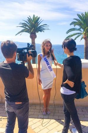 Jessica Garcia  a été élue Miss Corse 2015