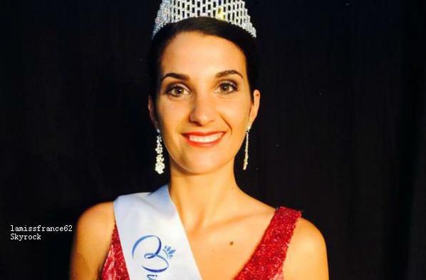 Emily Segouffin  été élue Miss Midi Pyrénées 2015