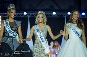 Gennifer Demey a été élue  Miss Aquitaine 2015