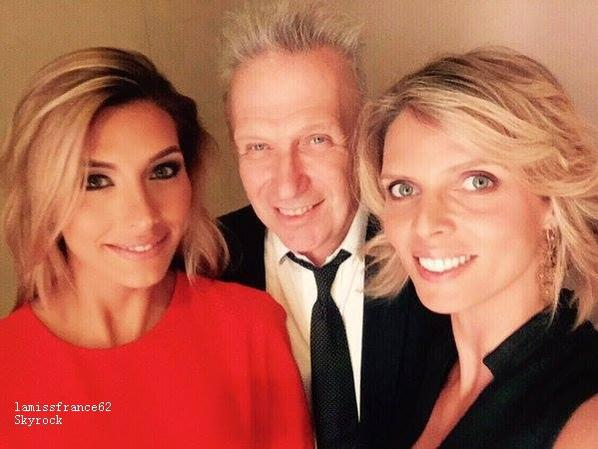 Camille à la fashion week en Republique Dominicaine avec Sylvie Tellier et Jean Paul Gaultier