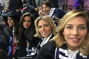 Nos miss au match vendredi soir France-Allemagne Pray For Paris