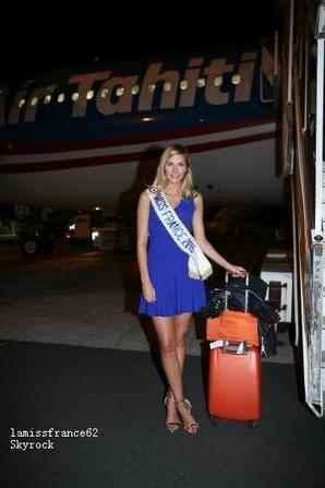 1er jour : Camille et les 31 Miss sont  à Tahiti