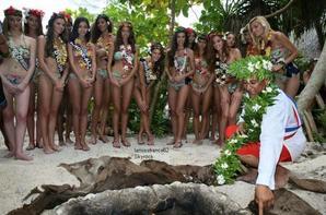 4 ème jours :  Camille et les 31 Miss sont à Tahiti
